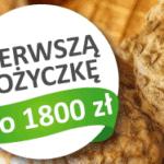 Pożyczka 1800 zł za 0 zł w Szybkiej Gotówce