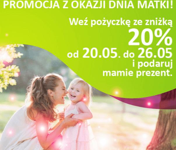 pożyczki na Dzień Matki