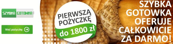 pożyczka 1800 zł