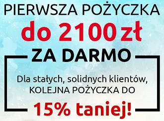 pożyczka 2100 zł