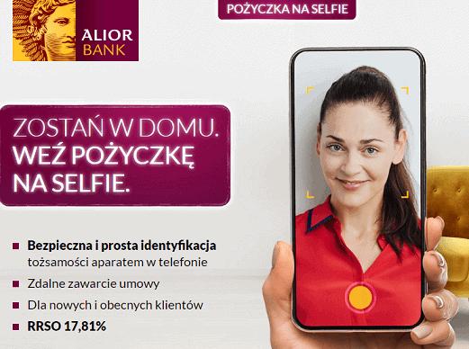 Pożyczka na selfie od Alior Banku